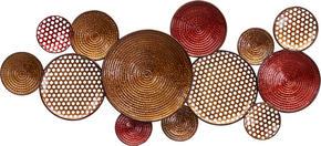 VÄGGDEKORATION - multicolor, Trend, metall (44/102/5cm) - Ambia Home