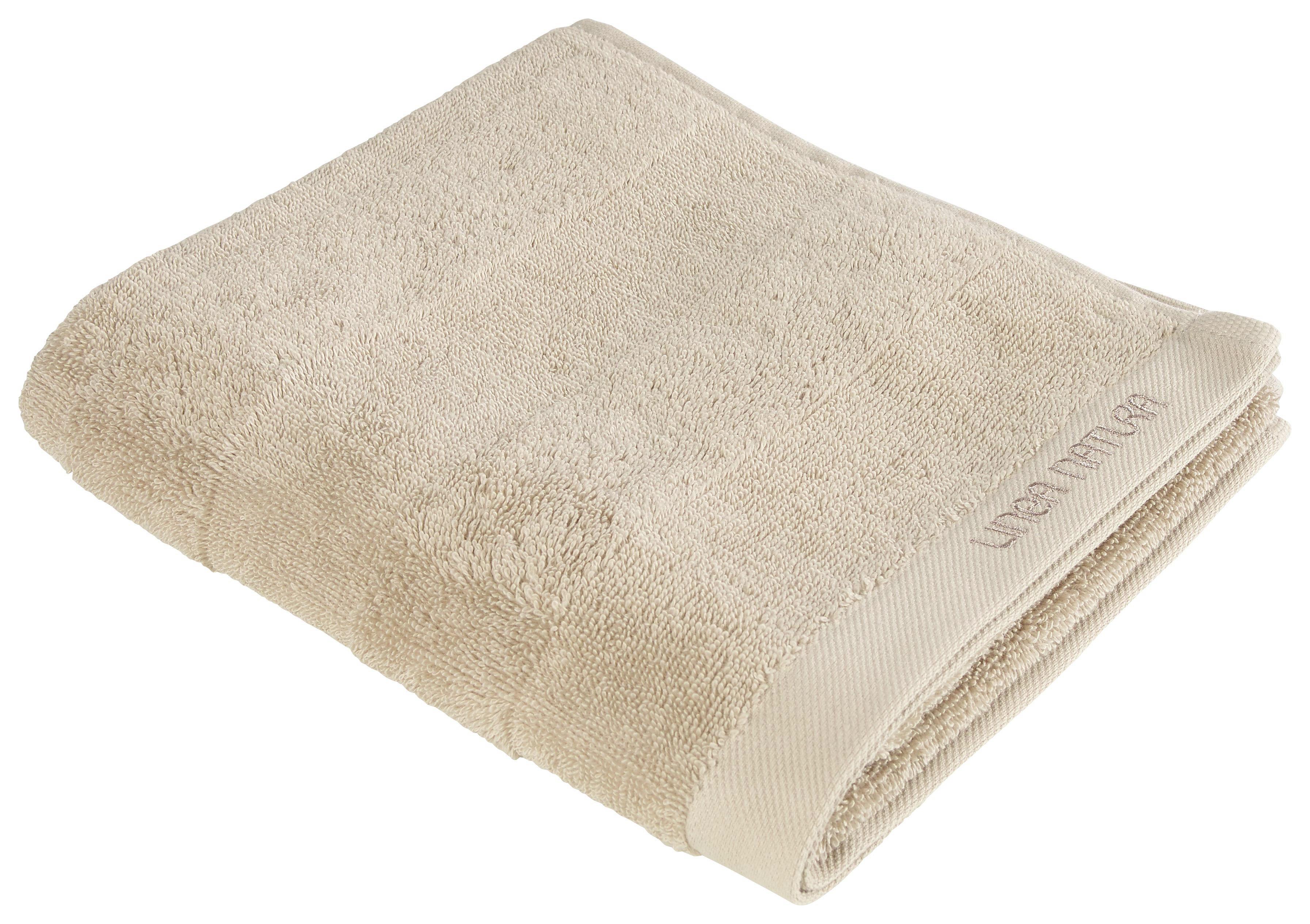 HANDTUCH 50/100 cm - Beige, Basics, Textil (50/100cm) - LINEA NATURA