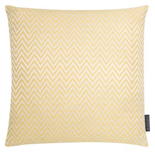 ZIERKISSEN 40/40 cm - Gelb, Textil (40/40cm)
