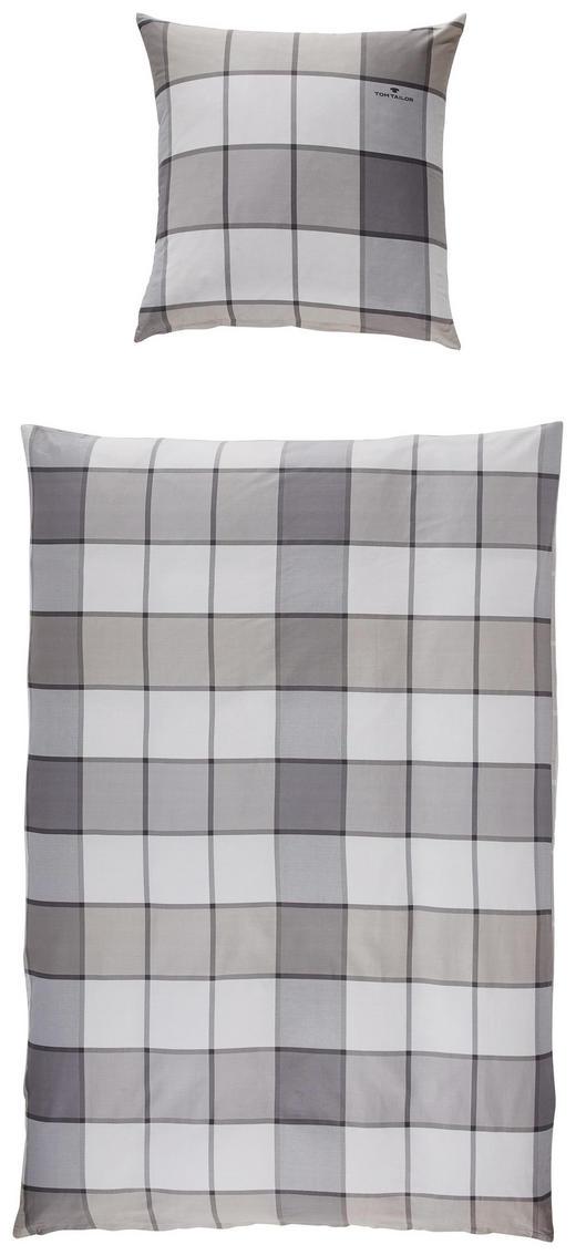 BETTWÄSCHE Satin Taupe - Taupe, Design, Textil (135/200cm) - TOM TAILOR