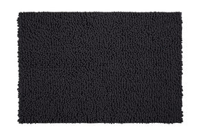 BADRUMSMATTA - antracit, Basics, textil/plast (60/90cm) - Esposa