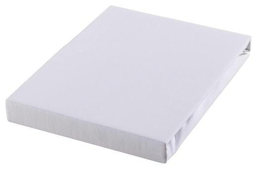 TOPPER-SPANNBETTTUCH Jersey Weiß für Topper geeignet - Weiß, KONVENTIONELL, Textil (100/200cm) - Esposa