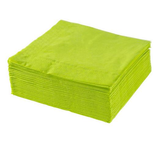 SERVIETE XXXL PACK, LIMETA - limeta, Konvencionalno, papir (40/40cm) - Xxxlpack