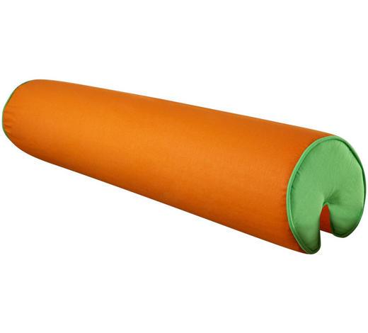 NACKENROLLE - Orange/Grün, Design, Textil (80cm)