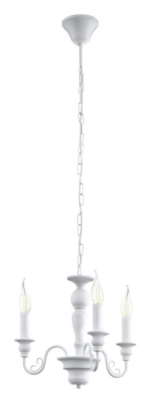 HÄNGELEUCHTE - Weiß, LIFESTYLE, Metall (64/110cm) - LANDSCAPE