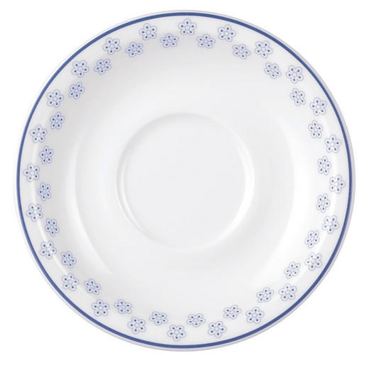 UNTERTASSE - Blau/Weiß, LIFESTYLE, Keramik (14,5cm) - Seltmann Weiden