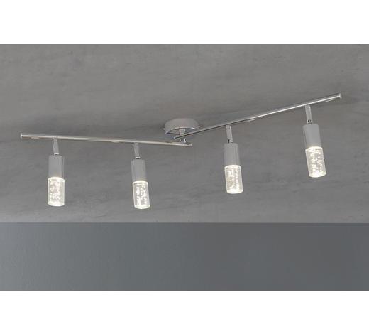 LED-STRAHLER - Chromfarben, Design, Metall (90/18,5/9cm)