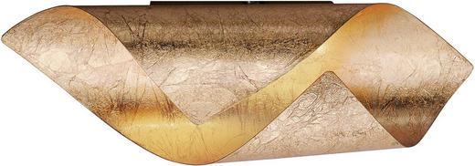 STENSKA LED SVETILKA NEVIS - zlata, Design, kovina (31/10/10cm)
