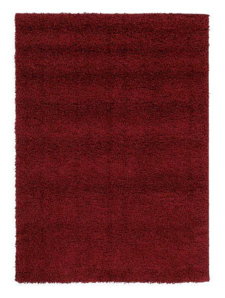 HOCHFLORTEPPICH  80/200 cm  gewebt  Rot - Rot, Basics, Textil (80/200cm) - Novel