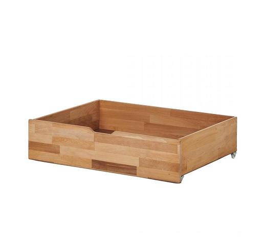 BETTKASTEN - Eichefarben, Natur, Holz/Kunststoff (83/29/68cm) - Carryhome