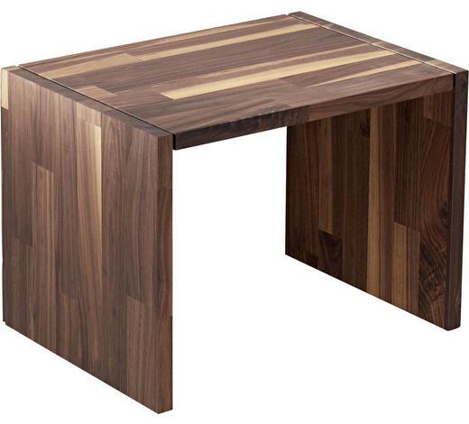 NACHTKÄSTCHEN in massiv Nussbaum Nussbaumfarben - Nussbaumfarben, Design, Holz (55/40/40cm) - Walden