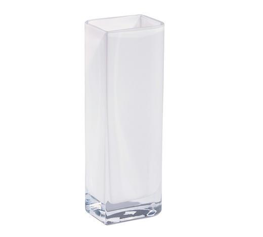 VASE 30 cm  - Weiß, Basics, Glas (30cm) - Leonardo
