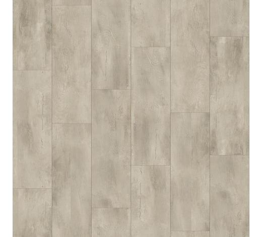 DESIGNBODEN per  m² - Hellgrau/Grau, MODERN, Holz/Kunststoff (128,5/19,4/0,8cm) - Parador