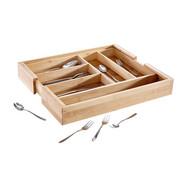 BESTECKEINSATZ - Basics, Holz (56/6,5/46cm) - Justinus