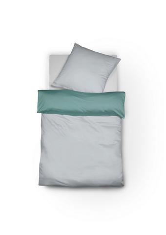POSTELJNINA ROYAL WENDE - siva/zelena, Konvencionalno, tekstil (140/200cm) - Fleuresse