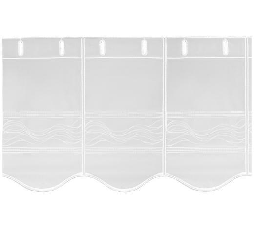 KURZGARDINE 120 cm - Weiß, LIFESTYLE, Textil (120cm) - Esposa