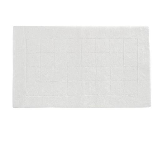 KOPALNIŠKA PREPROGA EXCLUSIVE - bela, Konvencionalno, umetna masa/tekstil (60/100cm) - Vossen