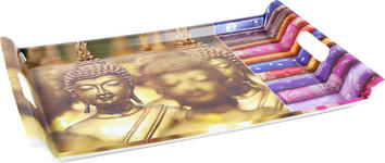SERVIERTABLETT - Multicolor, LIFESTYLE, Kunststoff (37/52cm) - Homeware