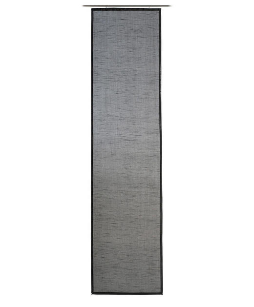 FLÄCHENVORHANG   blickdicht  60/245 cm - Schwarz, Basics, Textil (60/245cm)