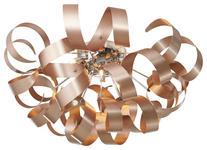 LED-DECKENLEUCHTE   - Chromfarben/Kupferfarben, LIFESTYLE, Metall (70/40cm) - Ambiente