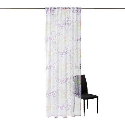FERTIGVORHANG  transparent  140/255 cm - Multicolor, Basics, Textil (140/255cm) - Esposa