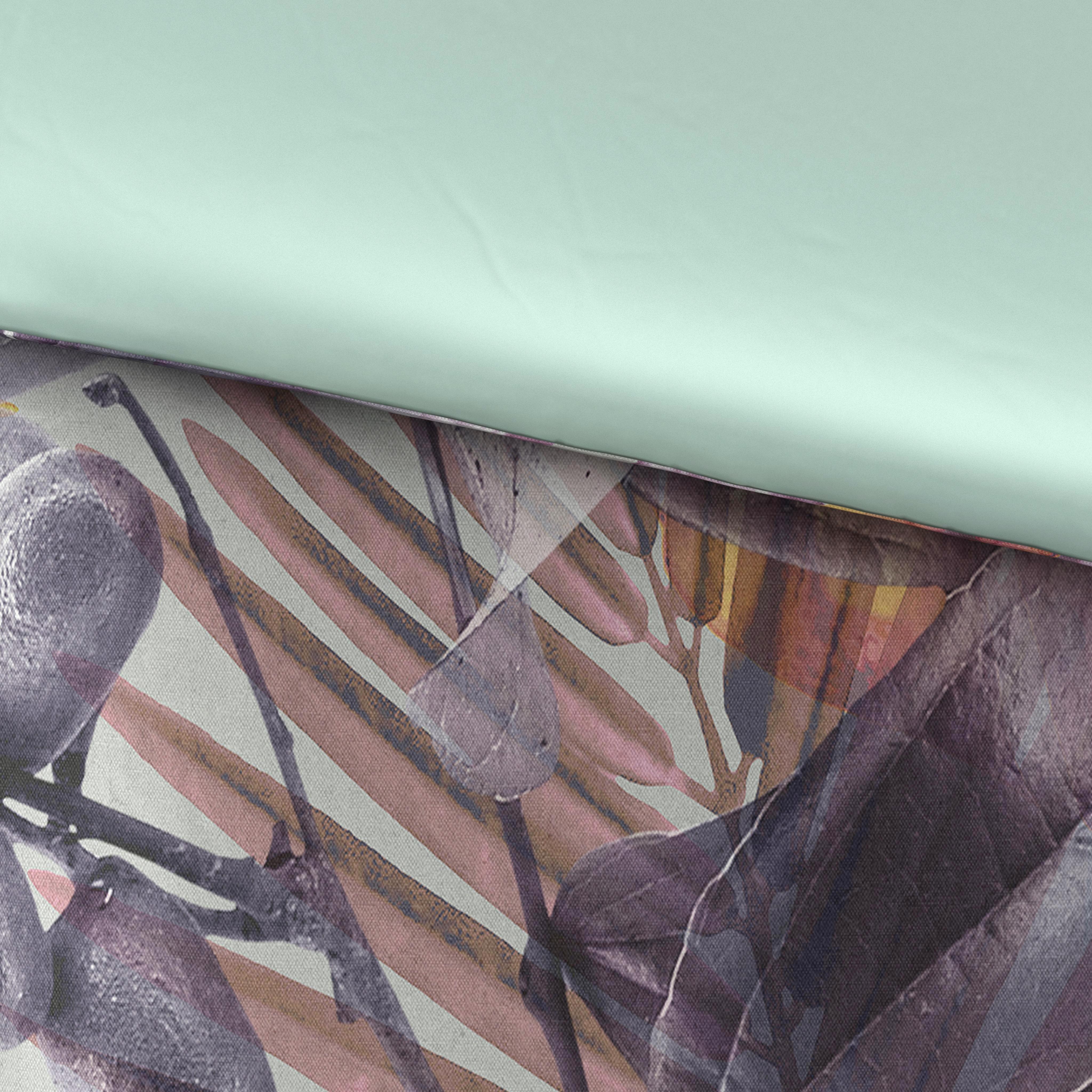 BETTWÄSCHE Satin Multicolor 155/220 cm - Multicolor, Design, Textil (155/220cm) - NOVEL