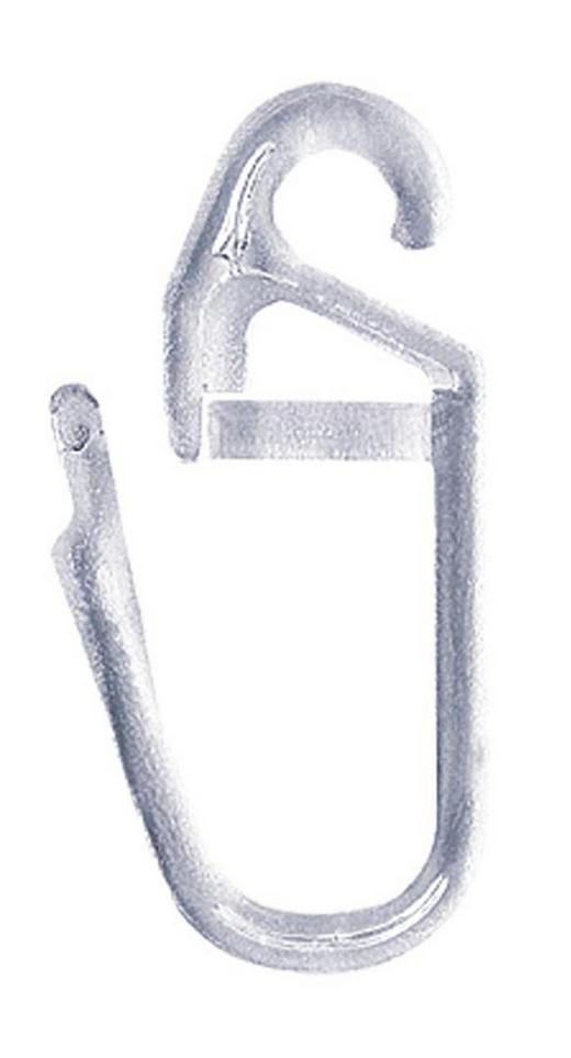 FALTENHAKEN - Klar, Basics, Kunststoff (0.4/2.8cm) - Homeware