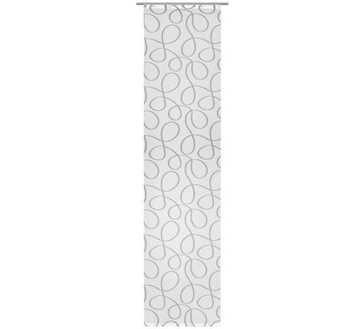 ZÁVĚS PLOŠNÝ, 60/255 cm - šedá, Design, textil (60/255cm) - Novel