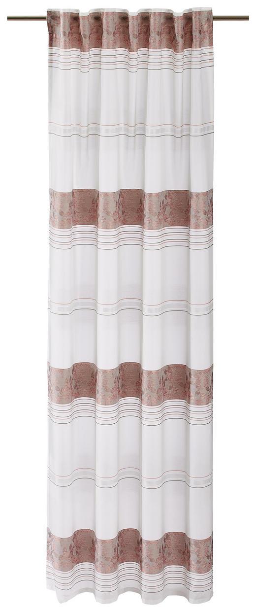 FERTIGVORHANG  halbtransparent  140/245 cm - Hellrosa, Textil (140/245cm)