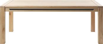 ESSTISCH Wildeiche rechteckig Eichefarben  - Eichefarben, Design, Holz (200(300)/100/75,9cm) - Linea Natura