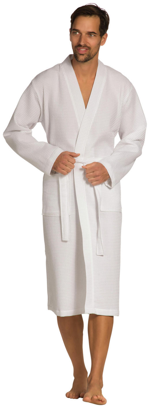 BADEMANTEL S// - Weiß, Basics, Textil (S//null) - Vossen