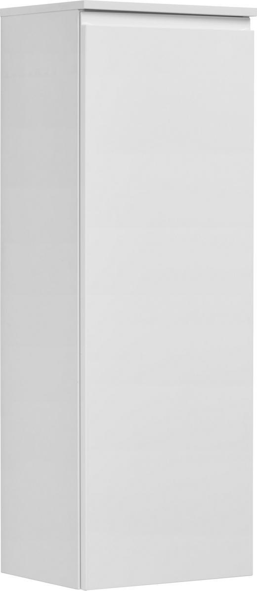 MIDISCHRANK Weiß - Weiß, Design, Glas (40/113,6/32,5cm) - Novel