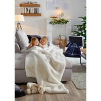 WOHNDECKE 150/200 cm - Schwarz, Design, Textil (150/200cm) - AMBIENTE