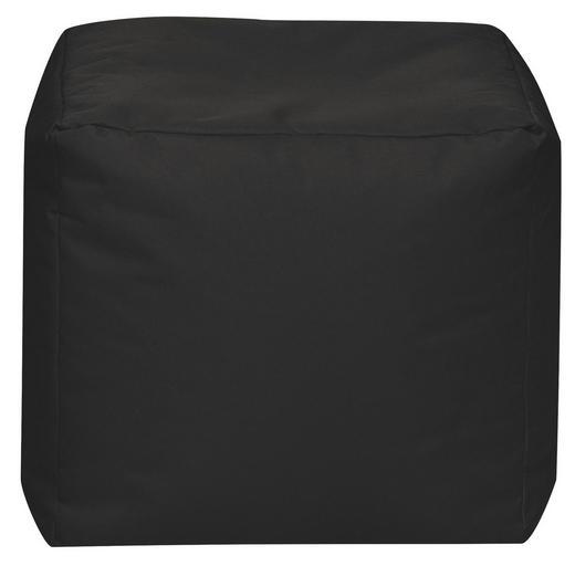 SITZWÜRFEL Schwarz - Schwarz, Design, Textil (40/40/40cm) - Carryhome