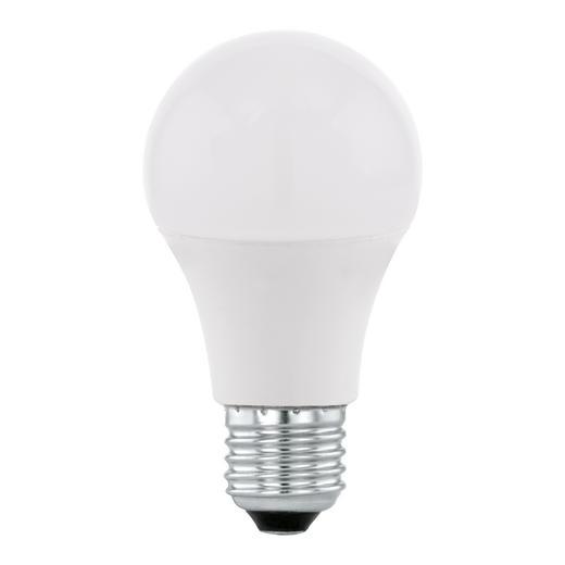 LED-LEUCHTMITTEL  E27 5,5 W - Weiß, Basics, Glas/Metall (11,5cm) - Homeware