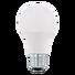 LED-Leuchtmittel E27  - Weiß, Basics, Glas/Metall (11,5cm) - Homeware