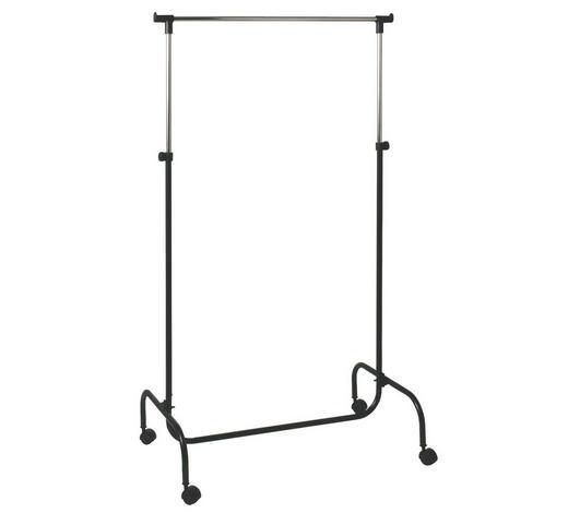 VJEŠALICA ZA GARD. SAMOSTOJEĆA - crna, Design, metal/plastika (80/45/110/170cm) - Boxxx