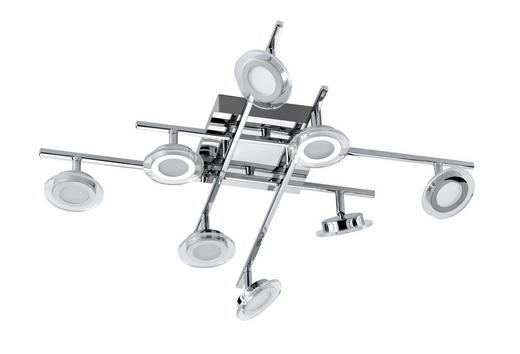 LED-STRAHLER - Design, Kunststoff/Metall (66/14/66cm)