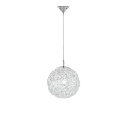 HÄNGELEUCHTE - Chromfarben, Design, Metall (30/150cm)