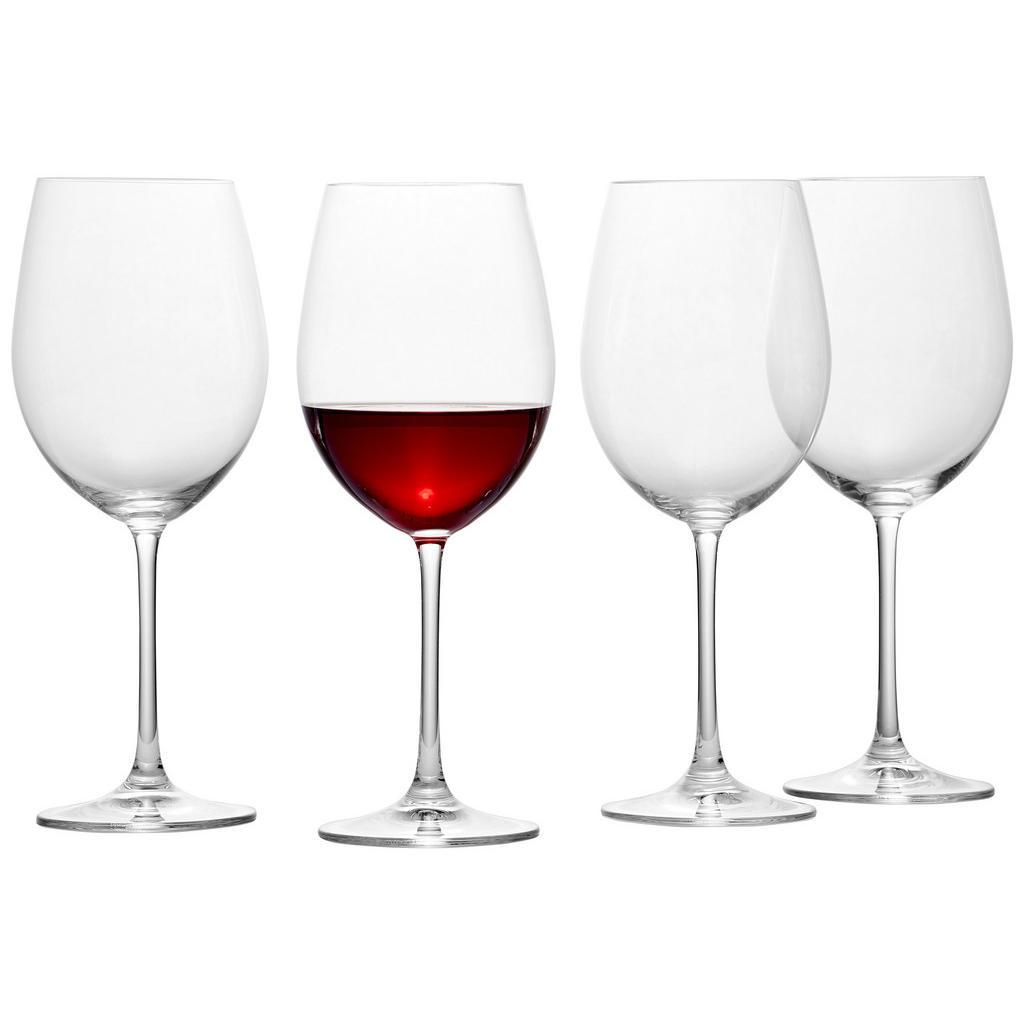 Nachtmann Bordeauxglas-set 4-teilig