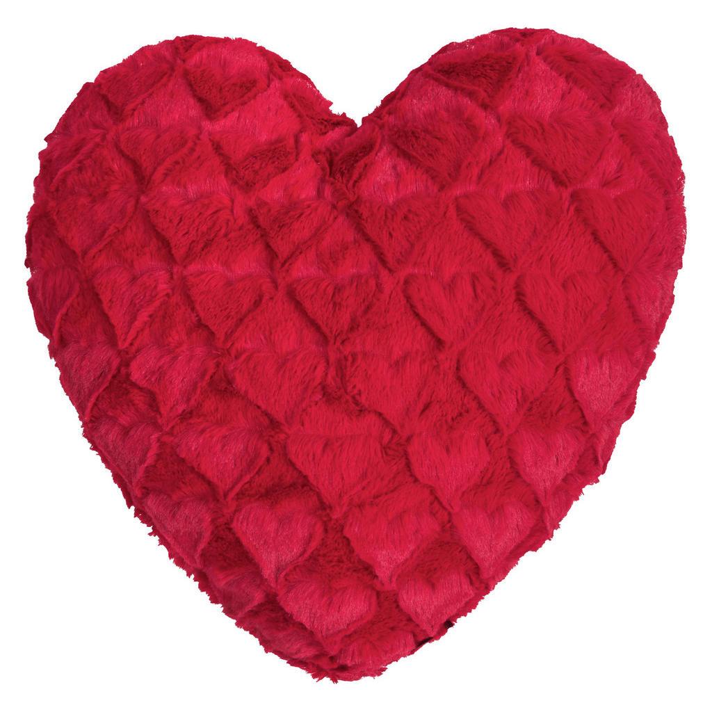 Herzkissen in Rot