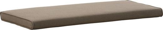 SITZKISSEN Taupe - Taupe, Design, Textil (80/3/38cm)