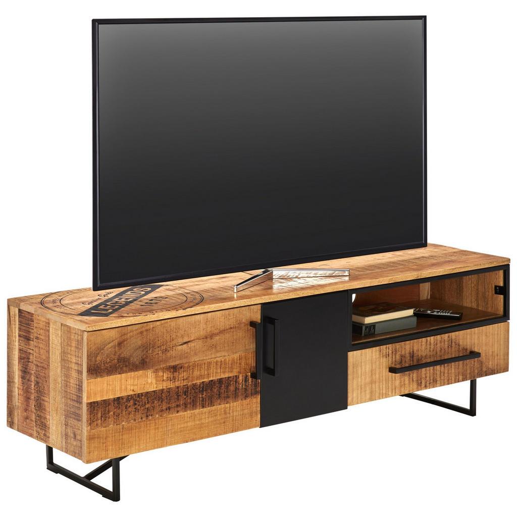 Ambia Home TV DÍL, mangové dřevo, vícebarevná - vícebarevná