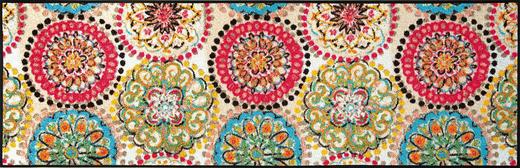 FUßMATTE 60/180 cm Graphik Multicolor - Multicolor, Kunststoff/Textil (60/180cm) - Esposa
