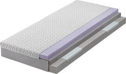 KALTSCHAUMMATRATZE 100/200 cm - Weiß, Basics, Textil (100/200cm) - DIETER KNOLL