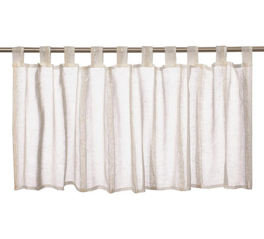 KURZGARDINE   140/48 cm   - Beige, Basics, Textil (140/48cm) - Esposa