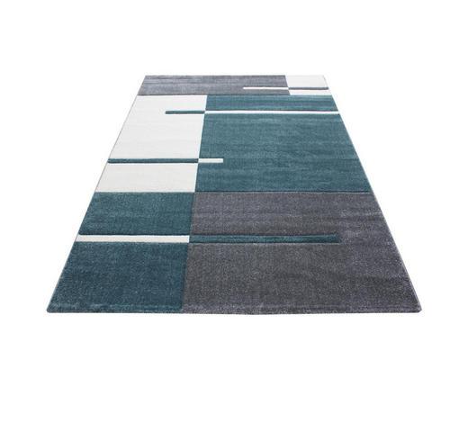 WEBTEPPICH  80/300 cm  Blau   - Blau, KONVENTIONELL, Textil (80/300cm) - Novel
