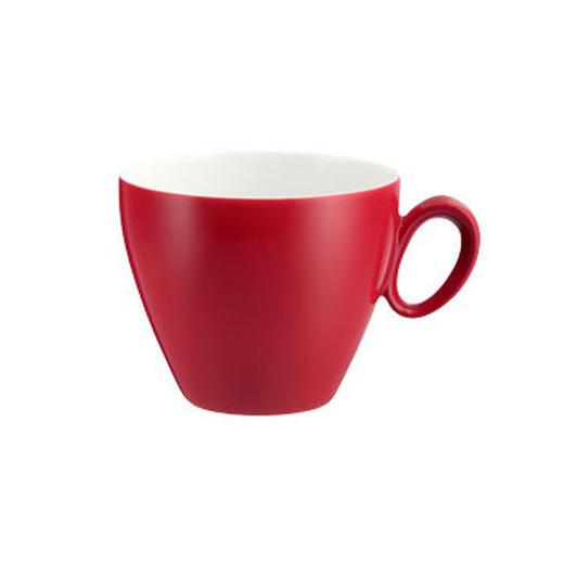 KAFFEETASSE - Rot/Weiß, Basics, Keramik (0.23l) - Seltmann Weiden