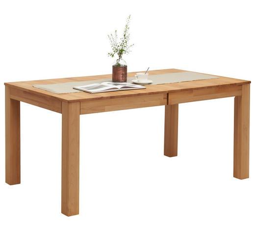 ESSTISCH in Holz 160/90/75 cm - Buchefarben, Natur, Holz (160/90/75cm) - Linea Natura