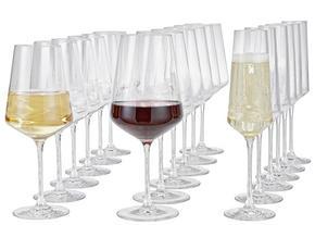 GLASSET - transparent, Design, glas (50/26/28cm) - Leonardo